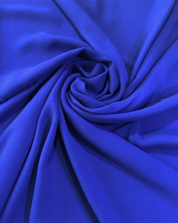 Вискоза плательная с эластаном (синяя)