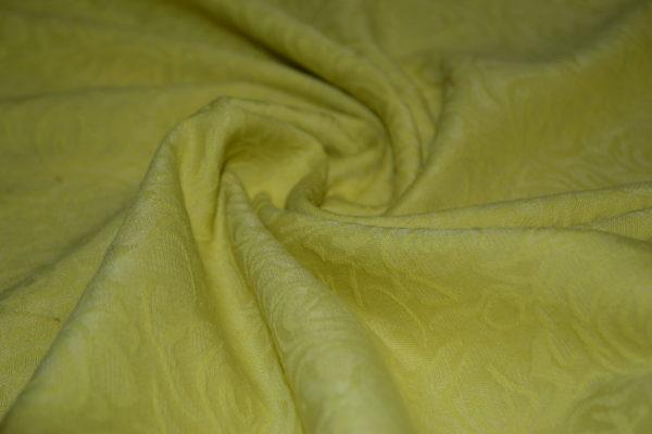 Жаккард в розы (жёлтый)