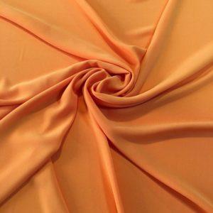 Плательный трикотаж полиэстер (оранжевый)