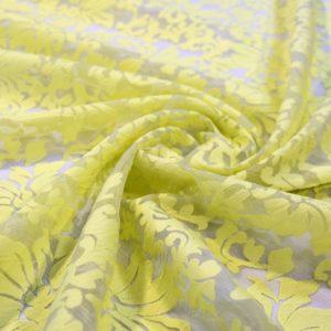 Вышивка, кружево dsquared жёлтые цветы