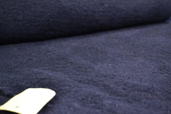 Вареная шерсть Loro Piana (чёрная)