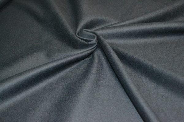 Шерсть с кашемиром и отливом (тёмно-синяя)