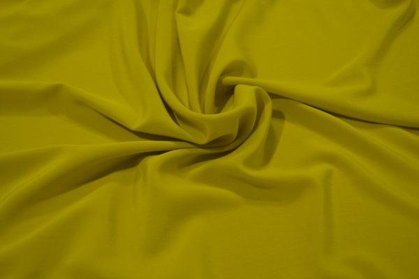 Шелк 100% желтый