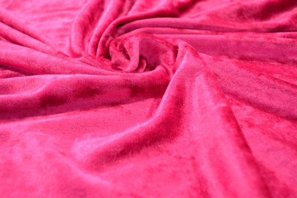 Бархат вискозный (розовый)