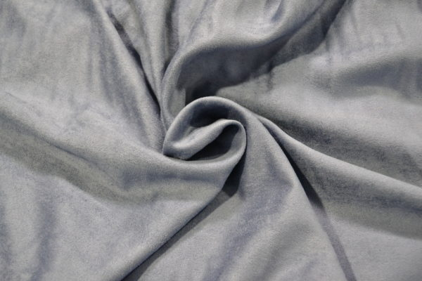Искусственная замша ARMANI серо-голубая