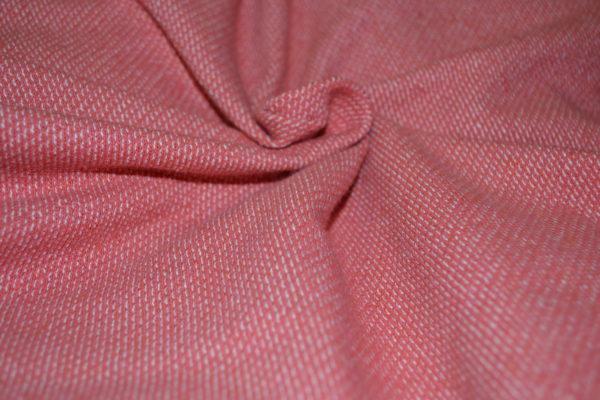 Футер меланж (розовый)
