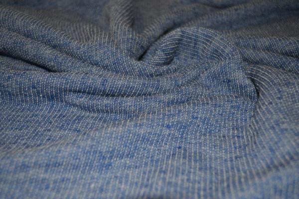 Футер меланж (голубой)
