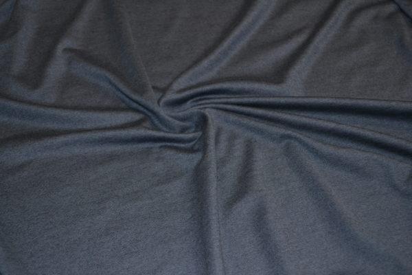 Трикотаж хлопок с шёлком Bottega Veneta (бело-коричневый)