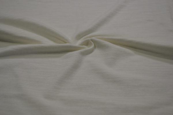 Трикотажное полотно Prada хлопок 100% белого цвета