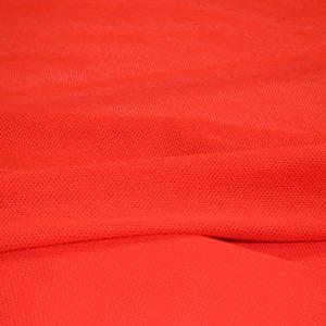 Трикотажная сетка хлопок (красная)