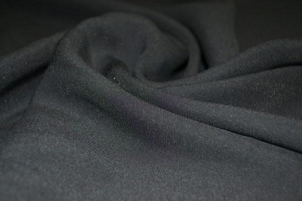 Плательная вискоза (черная)