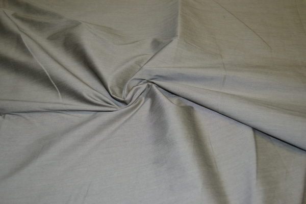 Плательно-костюмный хлопок с шелком (бронзовый меланж)