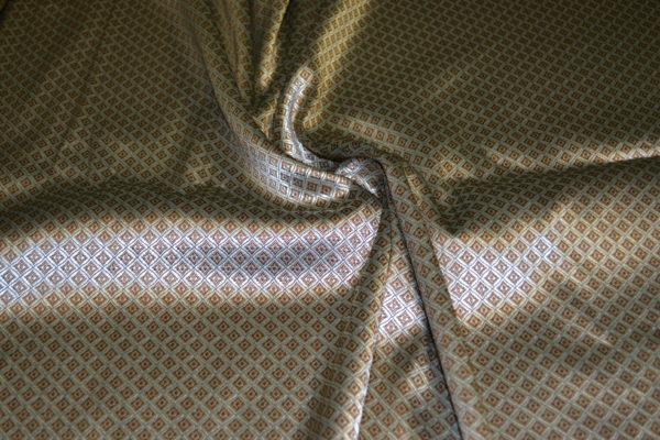 Жаккард VERSACE (золотисто-коричневый)
