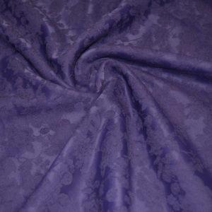 Жаккард в цветы (фиолетовый)