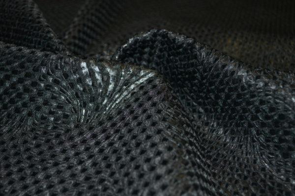 Жаккард в квадраты с ромбами (черный)