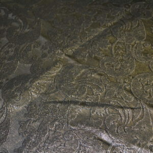 Жаккард канделябры (коричнево-золотистый)