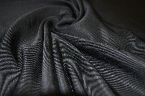 Жаккард костюмно-плательный (черный)