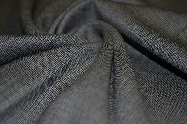 Шерсть костюмная PAUL SMITH (серая в мелкую клетку)