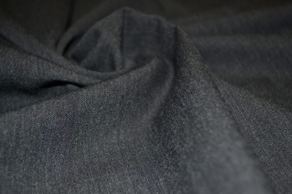 Шерсть костюмная c эластаном (графит)