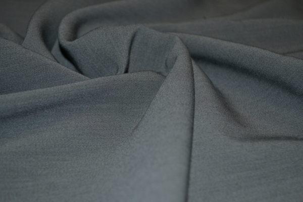 Шерсть костюмная с эластаном (серый меланж)