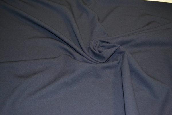 Шерсть костюмная с эластаном (черная)
