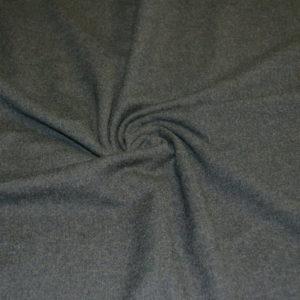 Шерсть костюмная фланель (серый меланж)