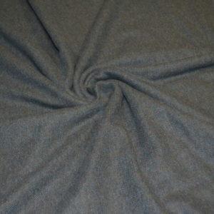 Шерсть костюмная серый меланж в елочку