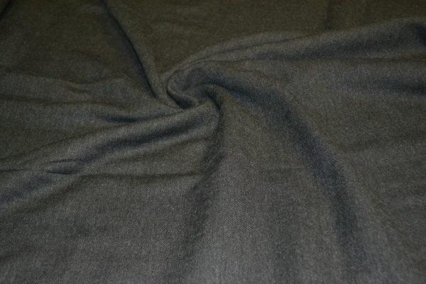 Шерсть костюмная с акрилом (асфальт в елочку)
