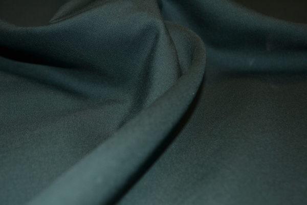 Шерсть костюмная FRATELLI TAGLIA зеленая
