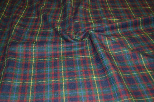 Шерсть мохер клетка зеленая шотландка