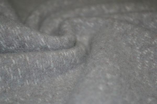 Вареная шерсть Loro Piana (светло серая)