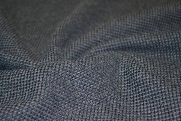 Шерсть с кашемиром и мохером BRIONI (сине-серый)