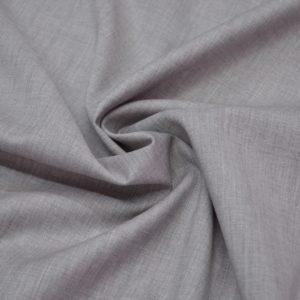 Шерсть костюмная розово-серая Cerruti