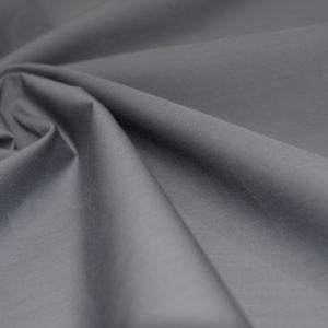 Поплин хлопковый с эластаном Bottega Veneta серо-стального цвета