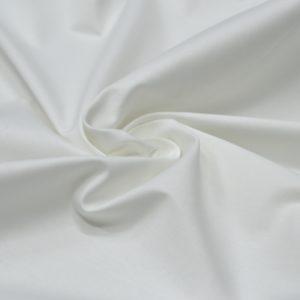 Хлопок с эластаном Christian Dior белого цвета (плотный)