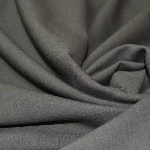 Шерсть костюмная Cerruti коричневая диагональ с эластаном
