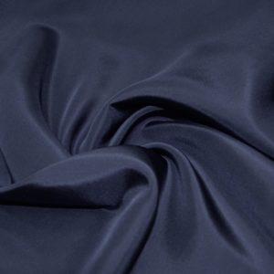 Шелк плательно-блузочный Christian Dior (темно-синий)