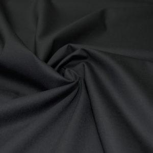 Шерсть костюмная с эластаном Christian Dior (super 140 черная)