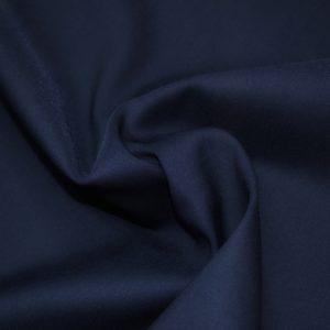 Шерсть с эластаном тёмно синяя Loro Piana