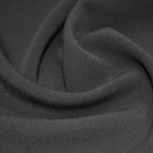 Костюмно-плательный полиэстр с эластаном Armani чёрный